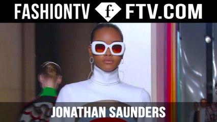 Jonathan Saunders Fall/Winter 2015 Show   London Fashion Week LFW   FashionTV