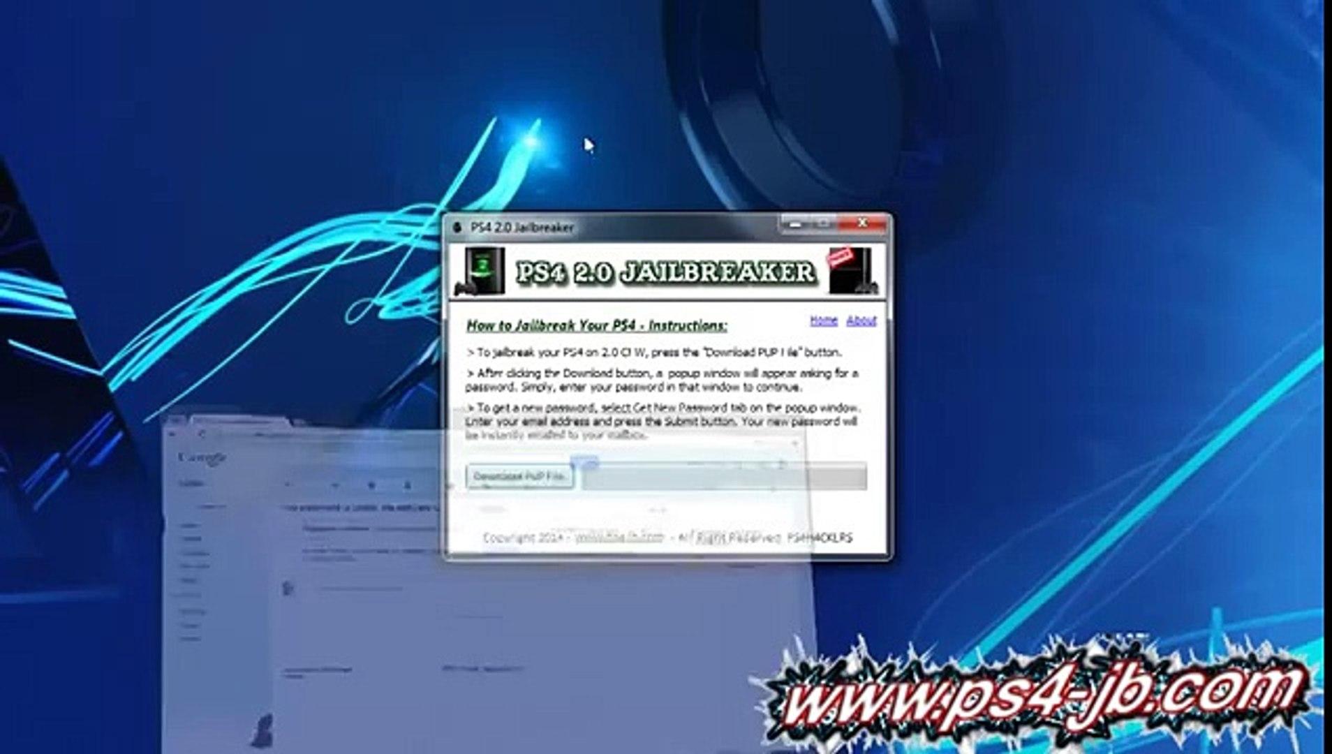 New ps4 CFW Jailbreak 2 00 Download Tutorial