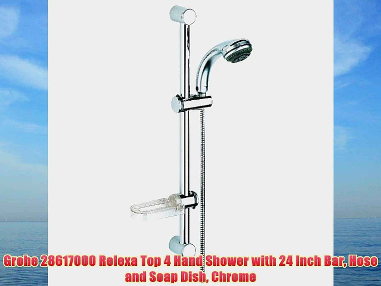 Grohe 28617000 Relexa Top 4 Hand Shower