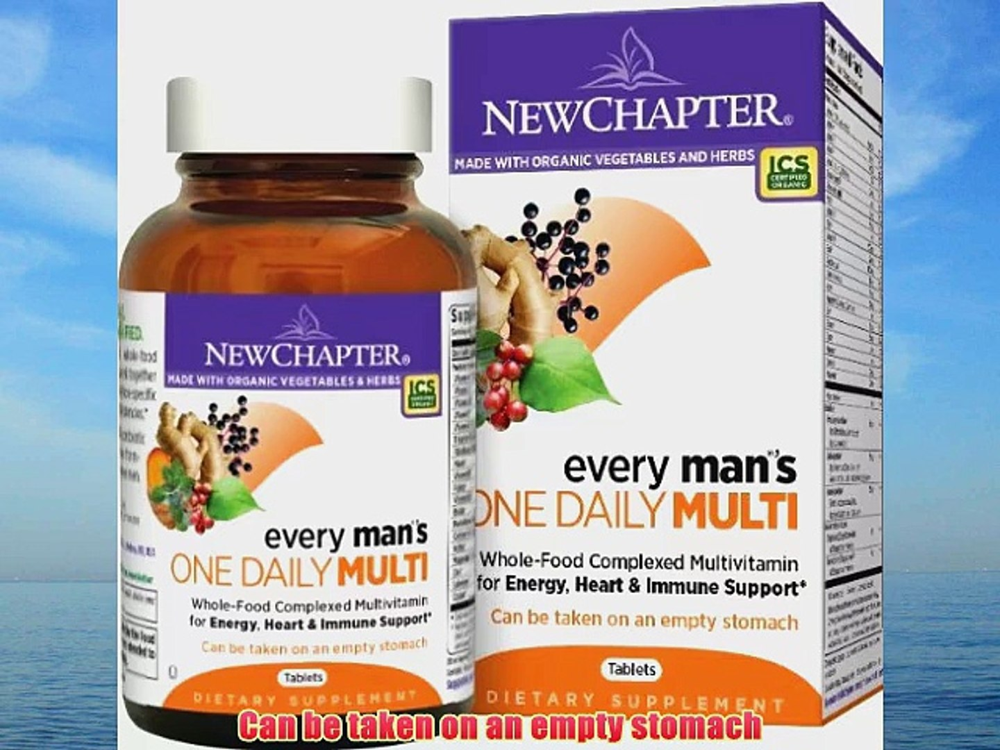 New Chapter Every Man's One Daily Multivitamin 216 Tablets