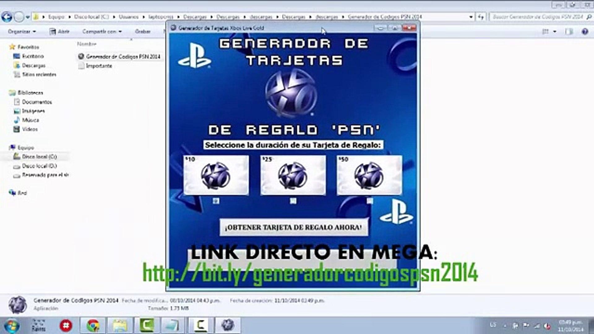 Generador De Codigos Psn 2015 Sin Encuestas Funciona Video Dailymotion