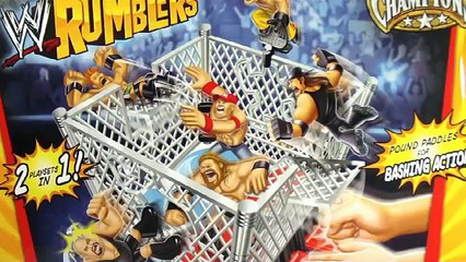 WWE Rumblers Blast & Bash Ring plus Steel Cage