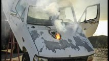 New Weapons: ATHENA Laser Stops Truck Engine In Seconds from A Mile Away