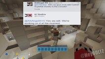 customizing super flat world on Minecraft PS3 - video