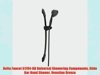 Chrome Delta Faucet 51508 Universal Showering Components Slide Bar Hand Shower