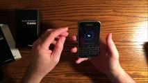 BlackBerry Classic Unboxing (Verizon)