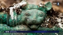La tombe d'un prince celte découverte à Lavau