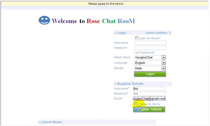 How to Join chat rooms