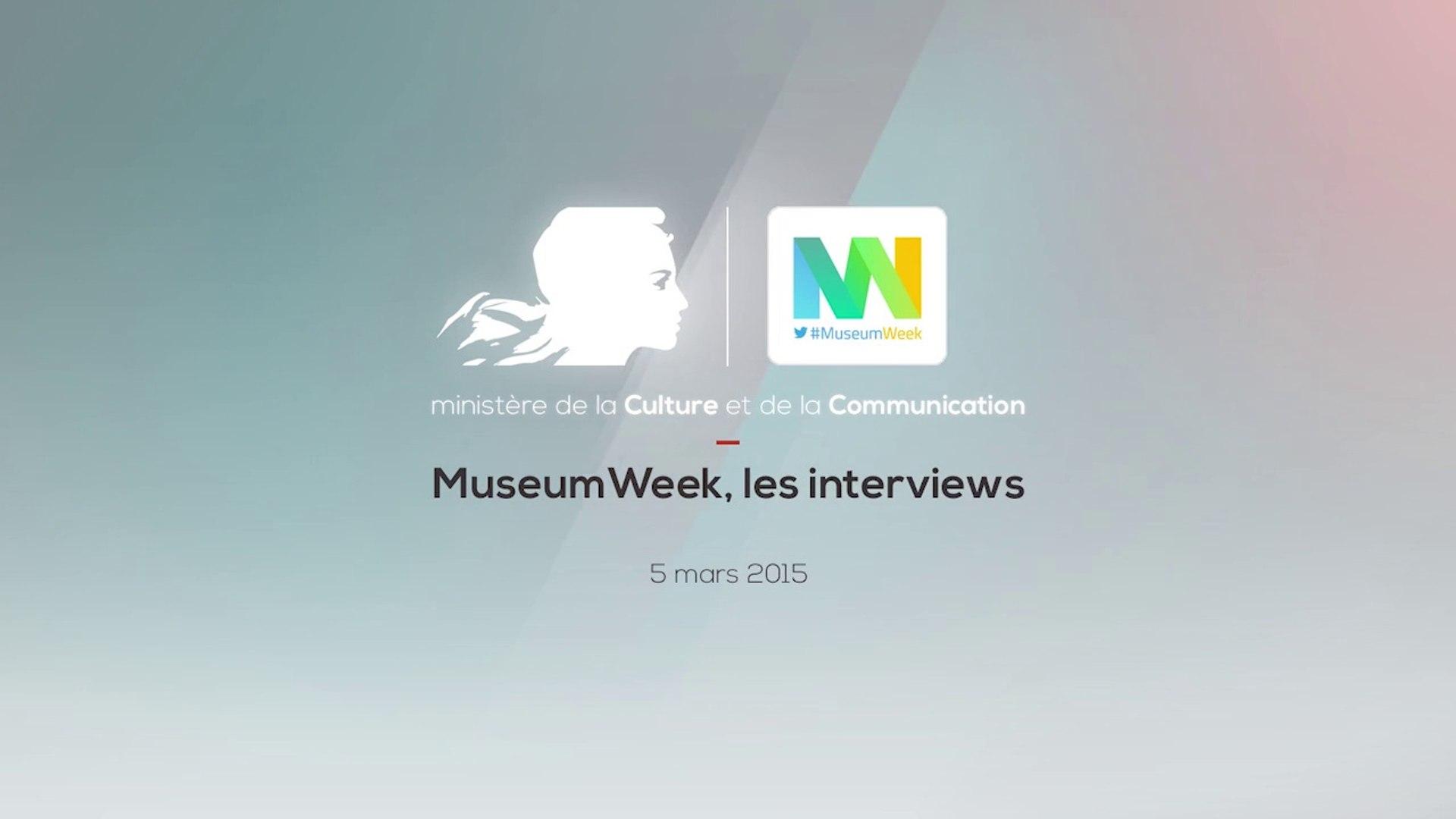 MuseumWeek 2015 - Les interviews
