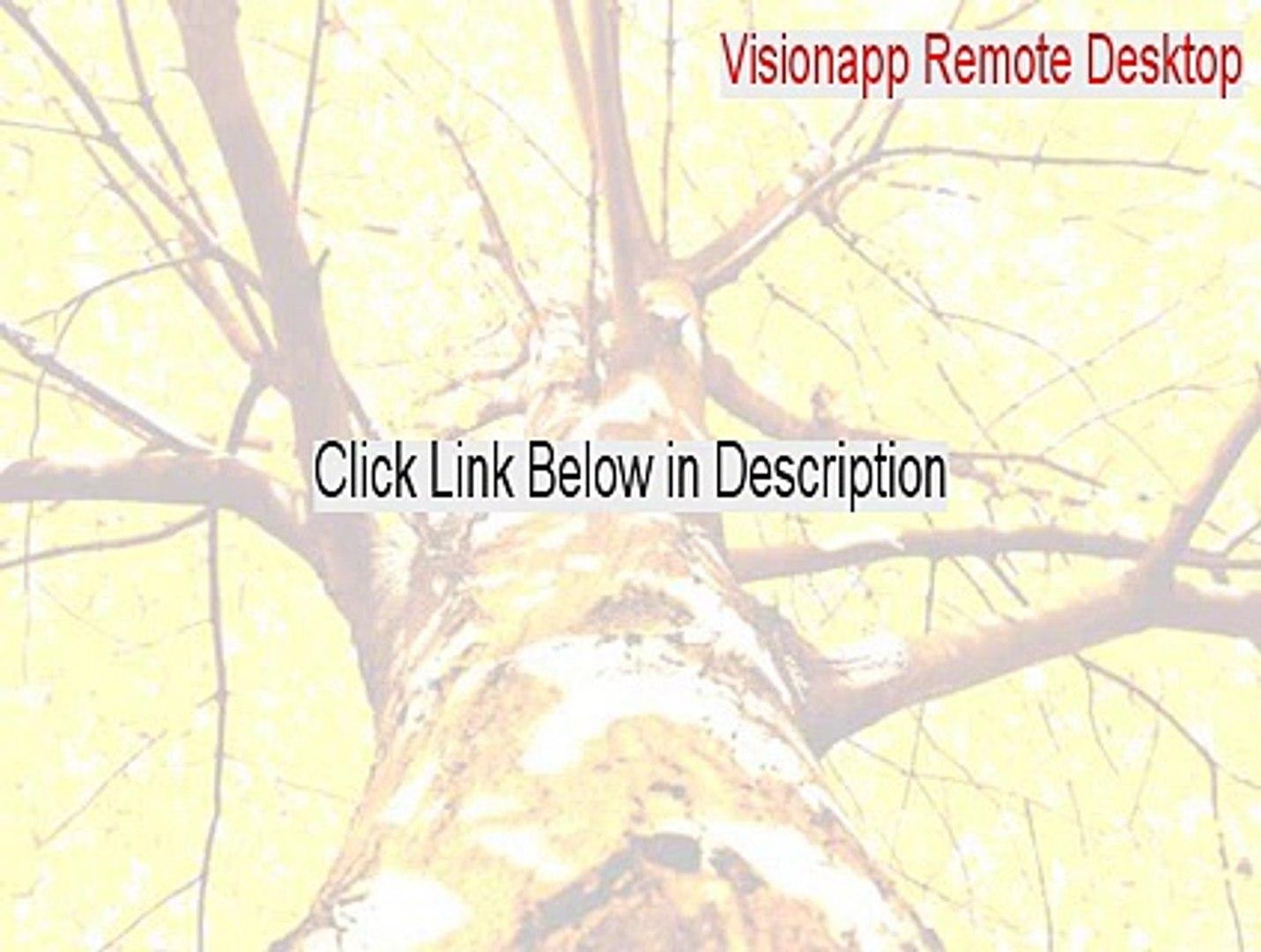 Visionapp Remote Desktop Cracked (visionapp remote desktop 2011 2015)