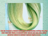 TRESSMATCH® 20 (22) Remy (Remi) Human Hair Clip in Extensions Light / Bleach Blonde (Color
