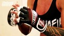 LARISSA REIS - MMA MIXED MARTIAL ARTS TRAINING - Female Bodybuilding Muscle Fitness