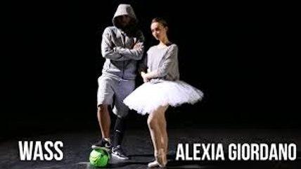 Mélange original de Danse Classique et Street Football- Wass et Alexia Giordano