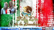 DIA DE LA BANDERA DE MEXICO 24 DE FEBRERO EVOLUCION E HISTORIA MEXICANA - VIVA MEXICO-MEXICANOS-2015