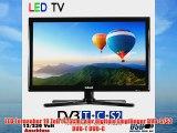 Gelhard GTV-1932 LED Fernseher 19 Zoll 48 cm DVB-S /S2 DVB-T DVB-C USB VGA 230V  12Volt Energieeffizienzklasse