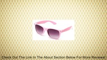 Newbee Fashion� - 80's Classic Blue Brothers Wayfarer Styles Vintage Retro Solid Color Sunglasses Review