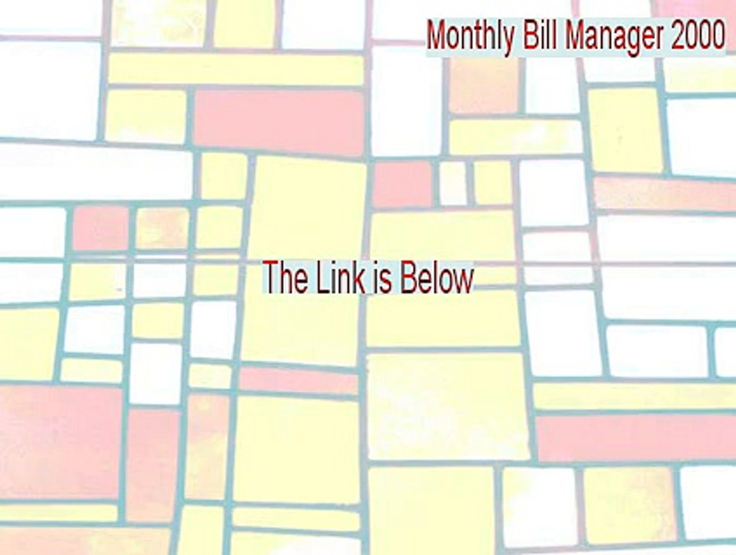 Monthly Bill Manager 2000 Download Free [Monthly Bill Manager 2000monthly bill manager 2000 2015]