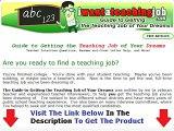 I Want A Teaching Job  THE SHOCKING TRUTH Bonus + Discount
