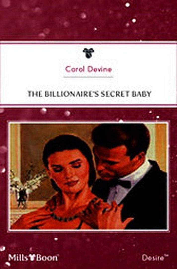 Download The Billionaire's Secret Baby ebook {PDF} {EPUB}