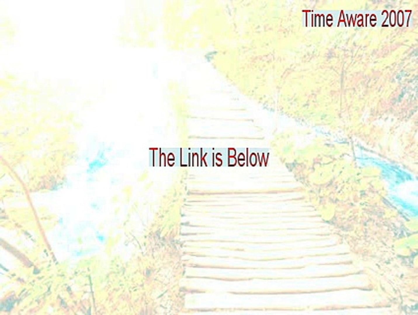 Time Aware 2007 Serial (Time Aware 2007 2015)