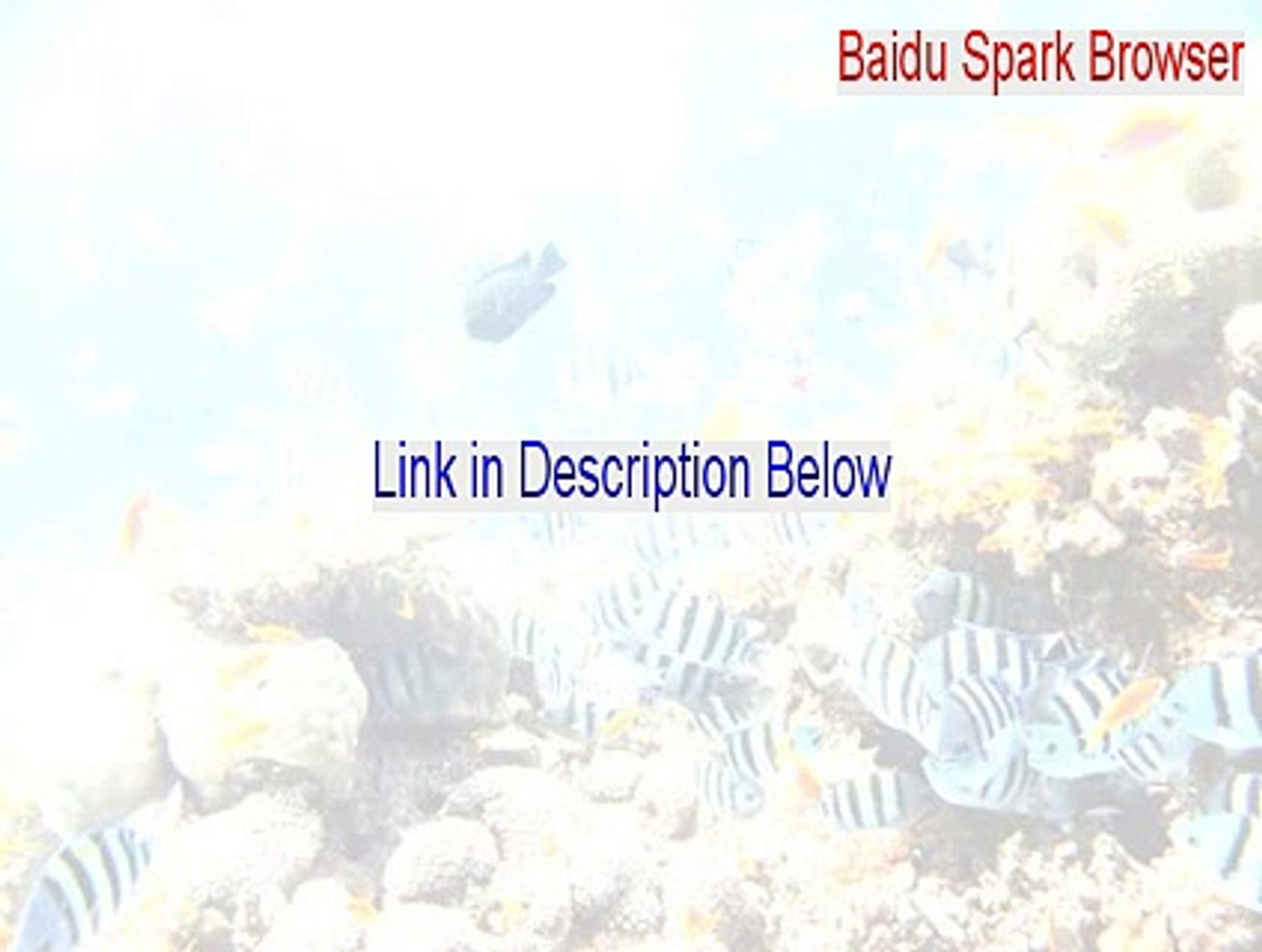 Baidu Spark Browser Download (Download Now 2015)