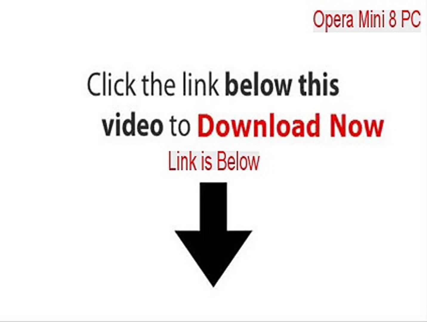 Opera Mini 8 PC Full - Instant Download