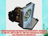 PHROG7 Ersatzlampe mit Geh?use f?r EPSON ELPLP21 - EPSON EMP-53 EMP-53  EMP-73 EMP-73  EMP-73C