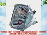 SHARP AN-A10LP - CODALUX Ersatzlampe ohne Geh?use - SHARP PG-A10S PG-A10S-SL PG-A10X PG-A10X-SL