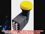Humax LNB 181  Octo Universal LNB (8 Teilnehmer integrierter Wetterschutz 0.1 dB Rauschma?