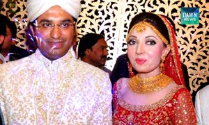 Sharmila and Hasham tie the knot