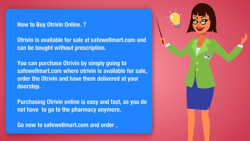 What's Otrivin ? Where to buy online ?