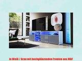Tv Board Lowboard Granada V2 In Wei Bordeaux Hochglanz Video