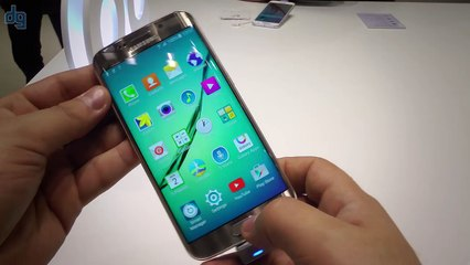 MWC 2015  Samsung Galaxy S6 Edge Ön İnceleme