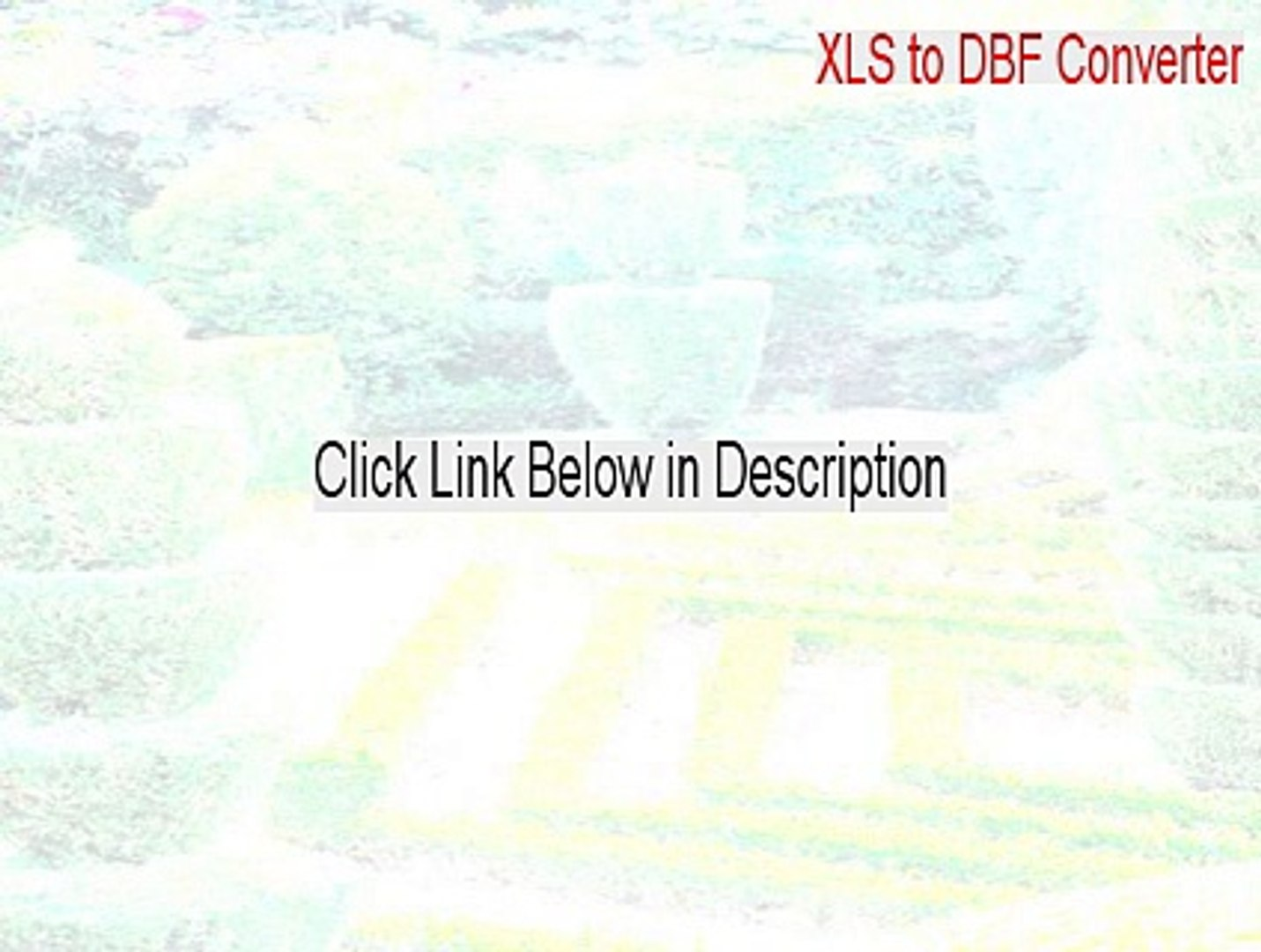 XLS to DBF Converter Keygen - Instant Download [2015]
