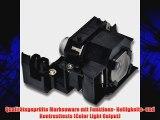 Alda PQ Beamerlampe ELPLP33 / V13H010L33 f?r Epson EMP-S3 EMP-S3L EMP-TWD3 EMP-TW20 EMP-TW20H
