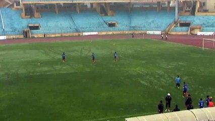 Tường thuật trực tiếp giao hữu bóng đá U23 Việt Nam - Hà Nội T&T