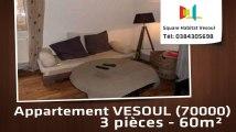 A vendre - Appartement - VESOUL (70000) - 3 pièces - 60m²