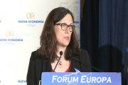 Malmström ve prioritarias las negociaciones del TTIP