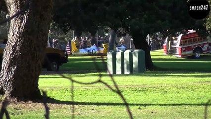 Harris Ford: Sein Flugzeug stürzte ab!
