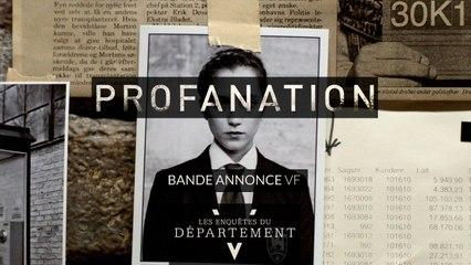 PROFANATION - Bande Annonce VF - Les Enquêtes du Département V