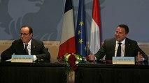 Déclaration conjointe avec Xavier Bettel, Premier ministre du Luxembourg