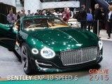 Bentley EXP10 Speed 6 en direct du salon de Genève 2015 Bentley EXP10 Speed 6 en direct du salon de Genève 2015