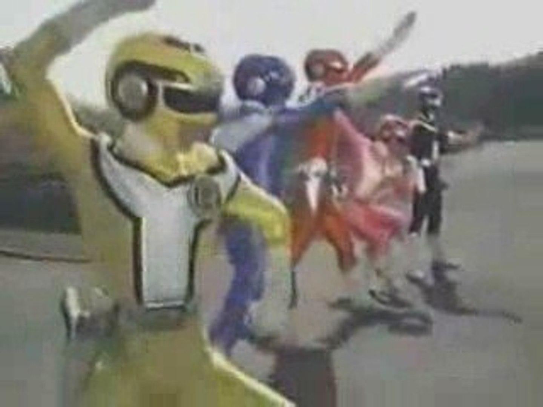Kousoku Sentai TurboRanger Henshin