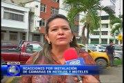 Reacciones por instalación de cámaras en hoteles y moteles