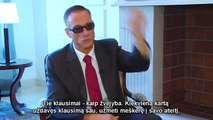 JEAN CLAUDE VAN DAMME - INTERVIEW IN LITHUANIA 2014 - Movies Fitness Bodybuilding Martial Arts