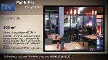 LOC0261- Fonds de commerce bar-restaurant tapas pres des commerces et de la plage.