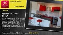 A vendre - appartement - SAINT MARTIN DE SEIGNANX (40390) - 2 pièces - 43m²