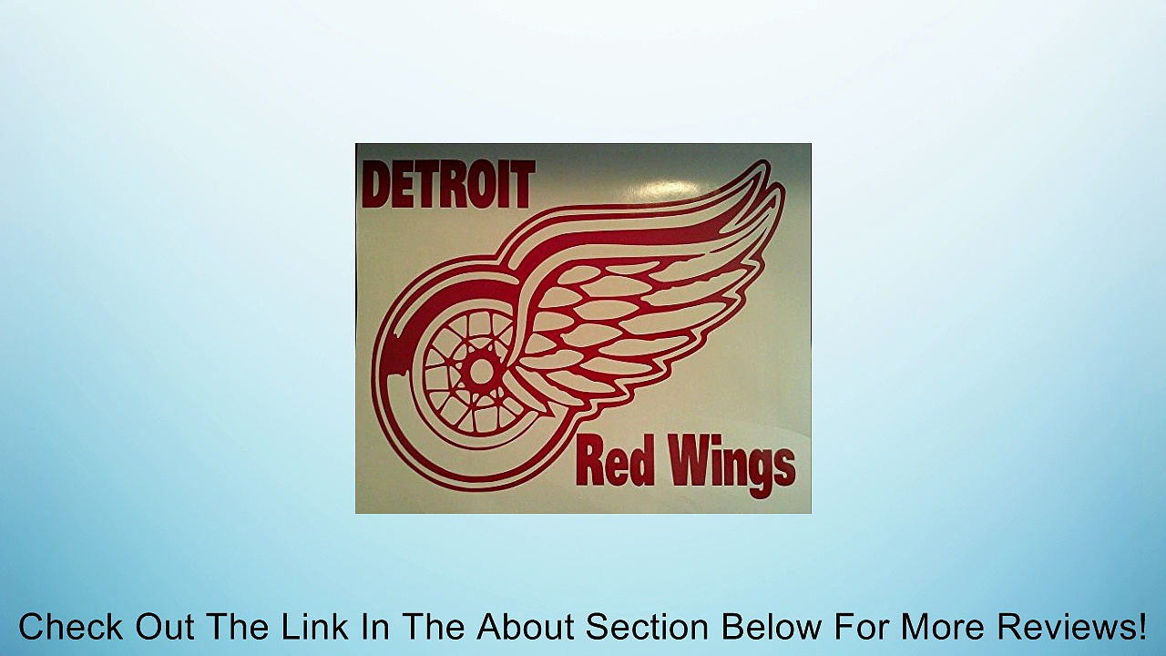New Detroit Red Wings Cornhole Decals – 2 Cornhole Decals Get 2 Free Hole Decals Review
