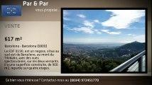 EDF 0190- NEGOCE A BARCELONE AVEC VUES PANORAMIQUES SUR BARCELONE, LA MER MEDITERRANEE, LA MONTAGNE DE MONTSERRAT