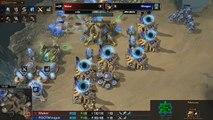 SHOUTcraft - Minigun vs Maker - ALL GAMES - StarCraft 2 - Heart of the Swarm